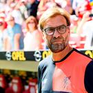 Jurgen Klopp of Liverpool during the friendly match between against FSV Mainz 05 at Opel Arena on August 7, 2016 in Mainz, Germany. (Photo by Alexander Scheuber/Bongarts/Getty Images)
