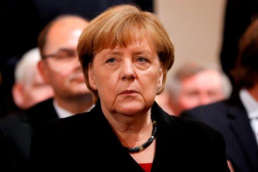 In Berlin, Angela Merkel knows that great strains have been put on the social and physical fabric of her nation by the sheer scale of immigration. Photo: AP Photo/Matthias Schrader