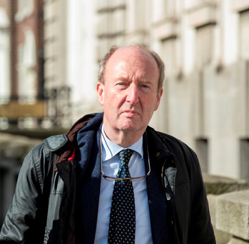 'The normally voluble and vociferous Transport Minister Shane Ross has been remarkably silent about his vision for the future of the system.' Pic:Mark Condren