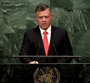 King Abdullah II of Jordan