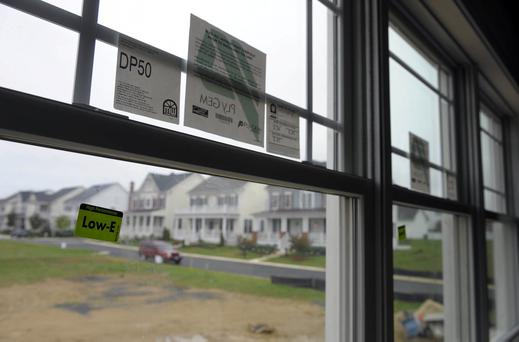 Renovation works can include replacing windows, installing roof and external wall insulation and using heat pumps that transfer the heat stored in the earth to warm up buildings. (Photo by Tracy A. Woodward/The Washington Post/Getty Images)