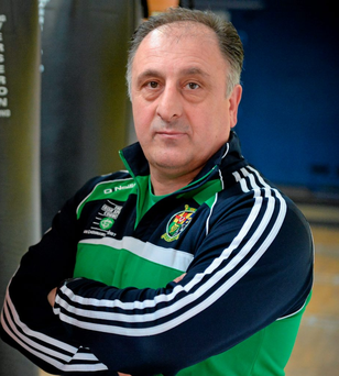 Irish National Coach Zaur Antia dismissed suggestions that term morale will suffer. Photo: Sportsfile