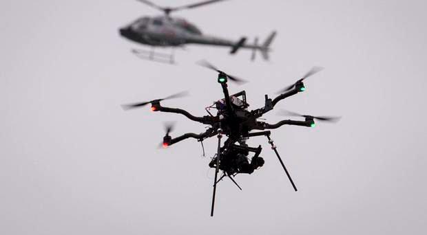 The unusual incident was one of hundreds involving remote control shop-bought drones last year
