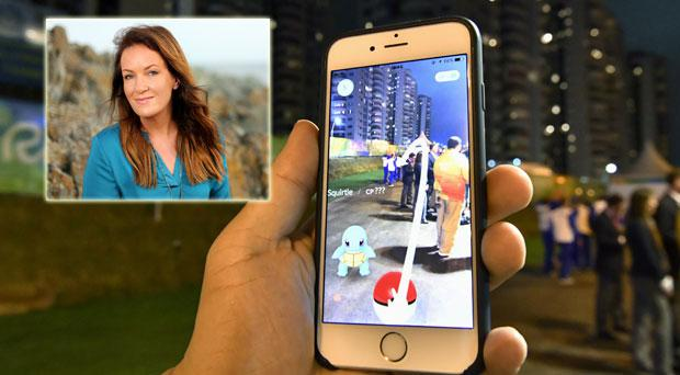 Dr Ciara Kelly on Pokemon Go!