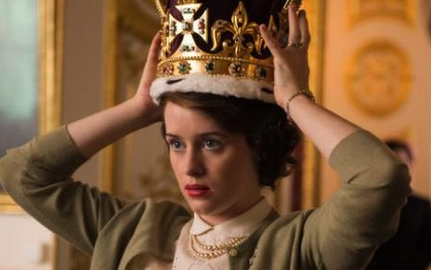 Claire Foy as Queen Elizabeth II in The Crown. Photo: Netflix