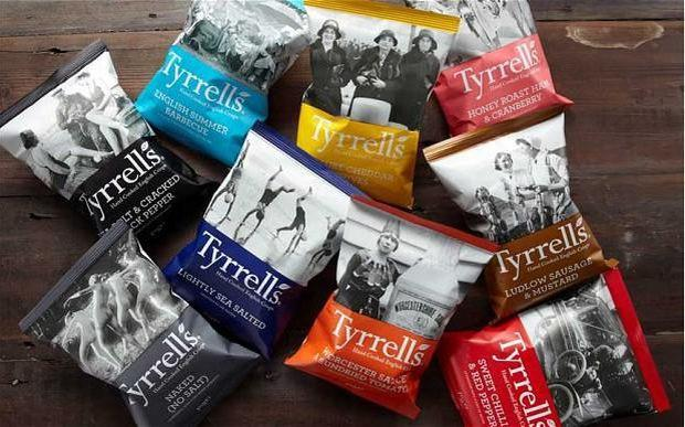 Tyrrells Crisps has been sold again in a deal that values the business at £300m