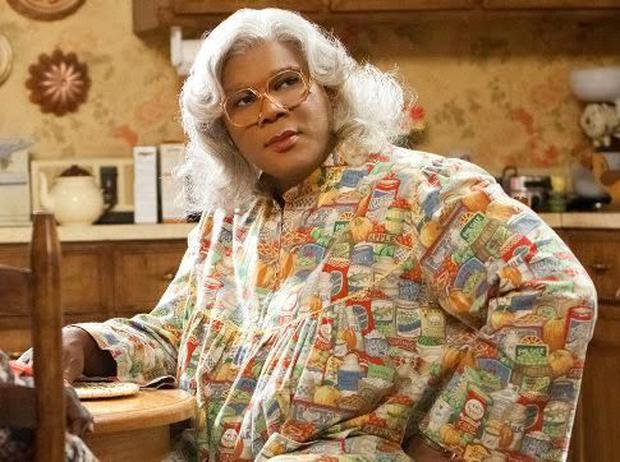 Tyler Perry as Madea. Photo: YouTube