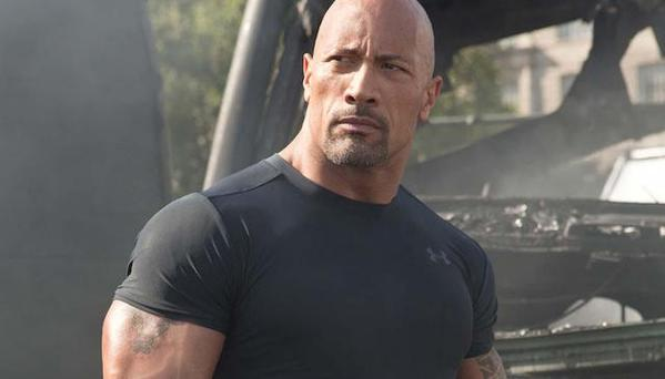 Dwayne 'The Rock' Johnson has lashed out at his male Fast 8 co-stars. (