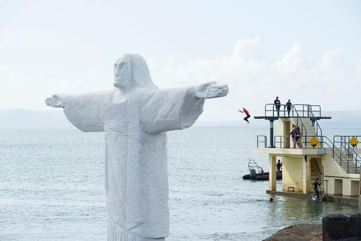 Christ the Redeemer comes to Galway.