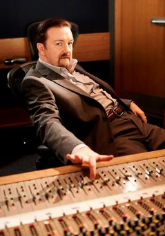 Ricky Gervais as David Brent in The Office. Photo: PA