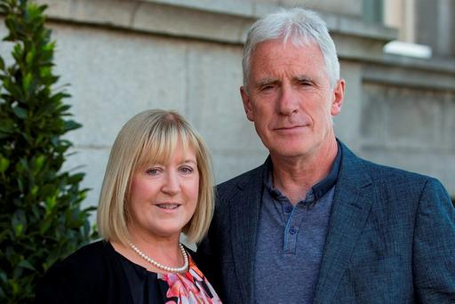 Jane and Brendan McKenna. Pictures: Arthur Carron