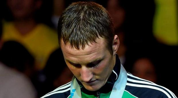 Boxer Michael O'Reilly. Picture credit: Paul Mohan / SPORTSFILE