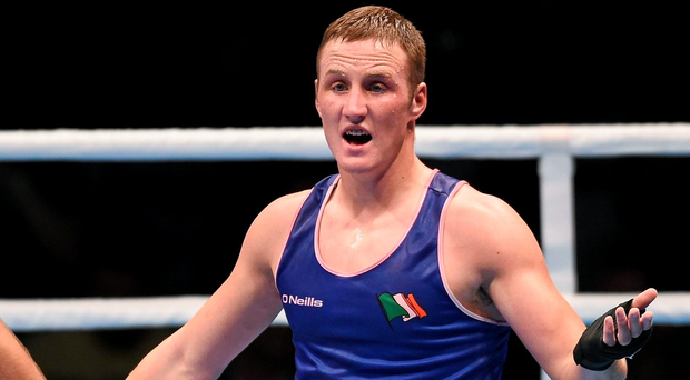 Michael O'Reilly is expected to fly home before Friday, his scheduled fight day. Photo: Sportsfile
