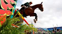 Jonty Evans of Ireland riding Cooley Rorkes Drift. Photo: Reuters
