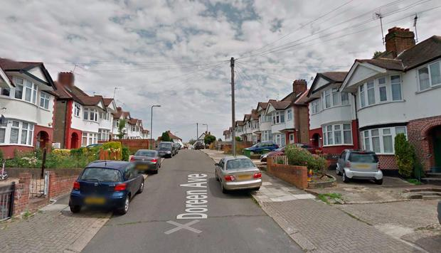 Doreen Avenue London. Picture: Google Maps