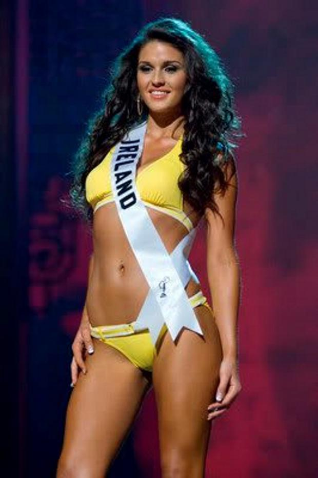 Lynn Kelly at Miss Universe 2008