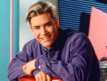 Mark Paul Gosselaar as Zack Morris in Saved By The Bell