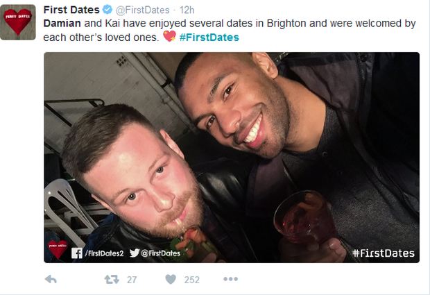 Kai and Damian on First Dates