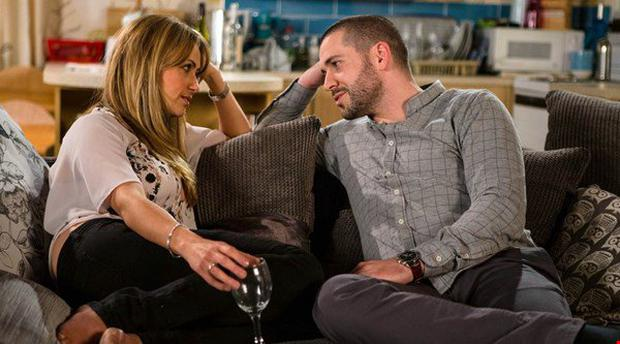 Maria Connor (Samia Ghadie) and Aidan Connor (Shayne Ward)