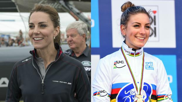 Kate Middleton's doppelganger is a French Olympian.
