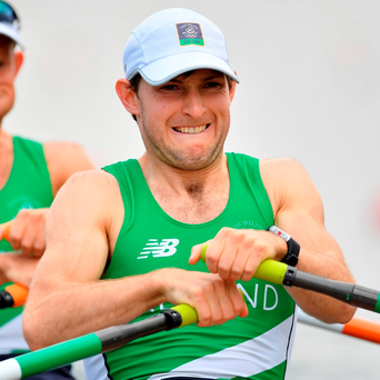 Gary O'Donovan, 23, and his sibling Paul (right), 22, were introduced to the sport in their native Skibbereen by their father Teddy. Photo: Brendan Moran/Sportsfile