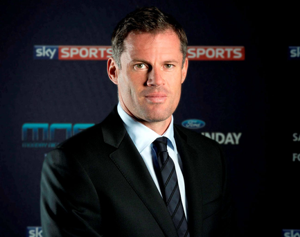 Jamie Carragher has real concerns about academy hopefuls. Photo: Sky Sports/Andrea Southam