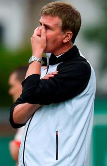 Dundalk manager Stephen Kenny. Photo: David Fitzgerald/Sportsfile