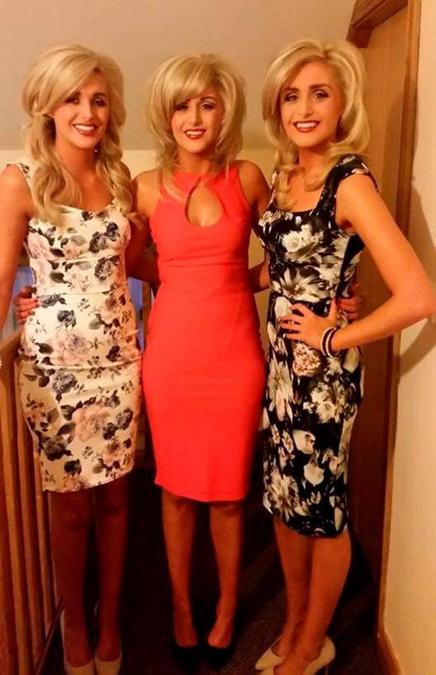 The Crimmins triplets. Picture: Twitter