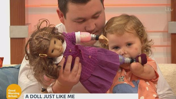 Harmonie appeared on Good Morning Britain on Thursday