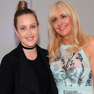 Miriam O'Callaghan and her daughter Clara McGurk at the launch of Paula Callan's new Callan & Co salon in Ballsbridge, Dublin. Picture: Brian McEvoy