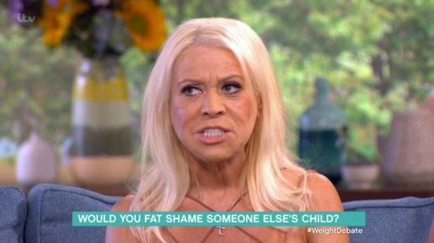 Tina Malone appeared on This Morning