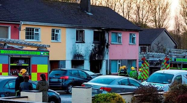 Noreen McAuliffe was the sole survivor of a house fire in Macroom County Cork, which claimed the lives of her youngest child Kenneth (26) and family friend Noel O'Mahony (64).