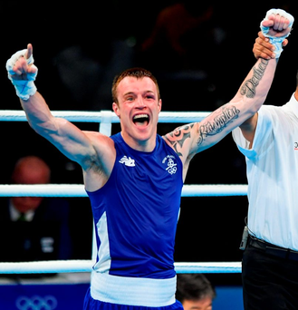 Steven Donnelly has his sights set on an Olympic medal. Photo: Ramsey Cardy/Sportsfile
