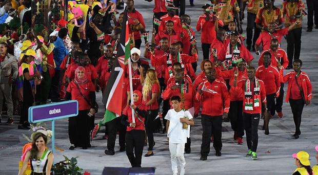 Kenya's participation in the Olympics had been in doubt after 40 of its athletes failed drug tests over the past four years. Photo: Getty Images