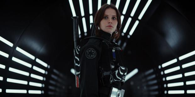 Felicity Jones in Rogue One: A Star Wars Story. Photo: Disney