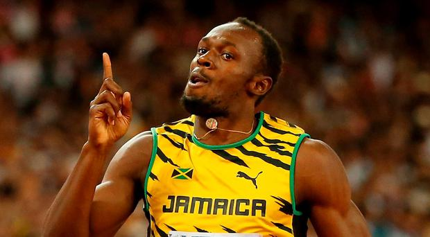 Usain Bolt is hoping to push the barriers in the 200m. Photo: Getty Images