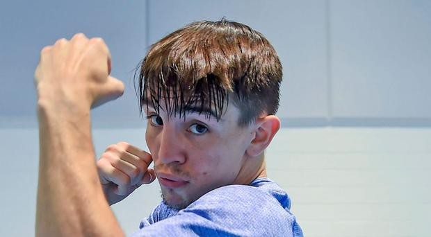 The unspoken fear about Conlan is that he has suffered two serious facial injuries in the last two years, which suggests that he is prone to these injuries. Photo: Sportsfile