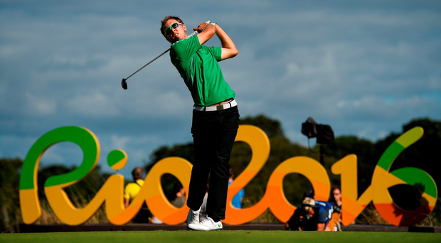 Seamus Power of Ireland during Round 1 of the Men's Strokeplay competition. Photo: Sportsfile