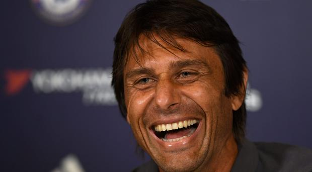 Antonio Conte refused to discuss any particular transfer targets in his first pre-match press conference yesterday. Picture Credit: Action Images via Reuters / Tony O'Brien
