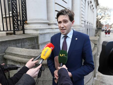 Minister for Health Simon Harris. Picture Credit: RollingNews.ie