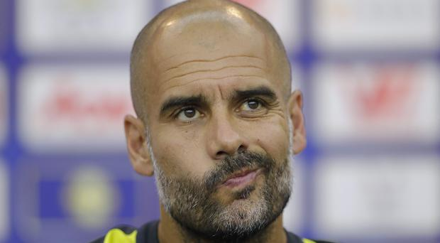 Pep Guardiola discussed his new role as Manchester City manager ahead of the curtain-raiser against Sunderland. Picture Credit: Lintao Zhang/Getty Images