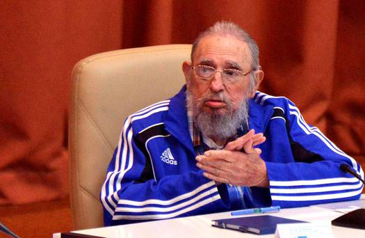 Fidel Castro pictured earlier this year. Picture: Omara Garcia/Courtesy of AIN/Handout via REUTERS