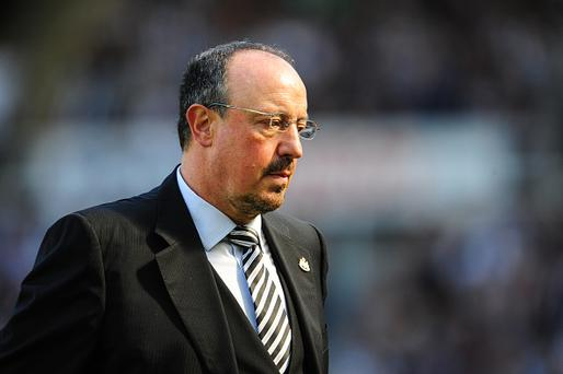 NEWCASTLE, ENGLAND - AUGUST 13: Newcastle Unitedâs Manager Rafael Benitez during the Sky Bet Championship match between Newcastle United and Huddersfield Town at St.James Park on August 13, 2016, in Newcastle upon Tyne, England. (Photo by Serena Taylor/Newcastle United via Getty Images)