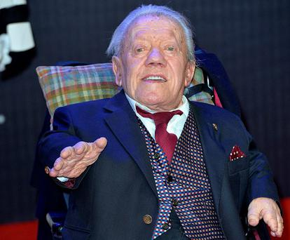 Kenny Baker attends the European Premiere of