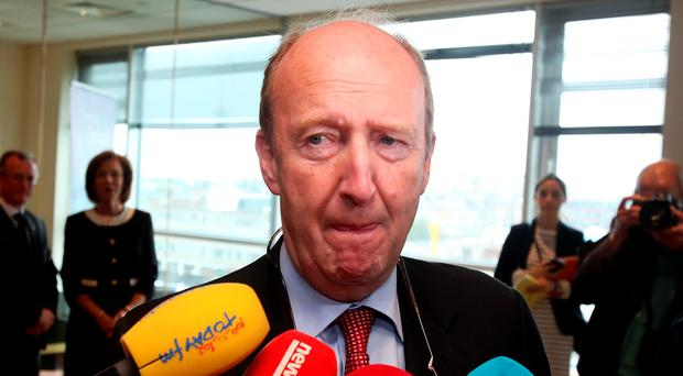 I WANT ANSWERS: Minister Shane Ross. Pic Tom Burke