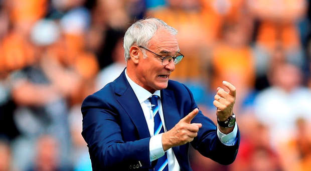 Claudio Ranieri: 'We made some mistakes'. Photo: PA