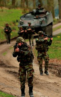 SKILLS: Due to historic reasons, the Army, who have the experience and capability to gather and analyse intelligence, do not have the legal independent authority to do so. Photo credit: Niall Carson/PA Wire