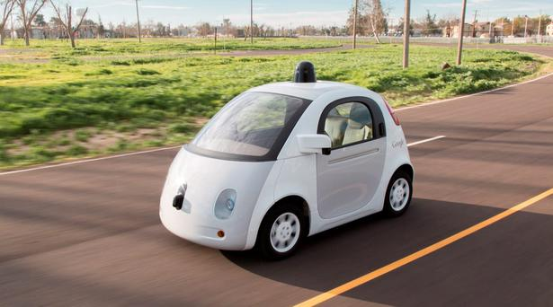 AI: A self-driving car on Google's Silicon Valley campus