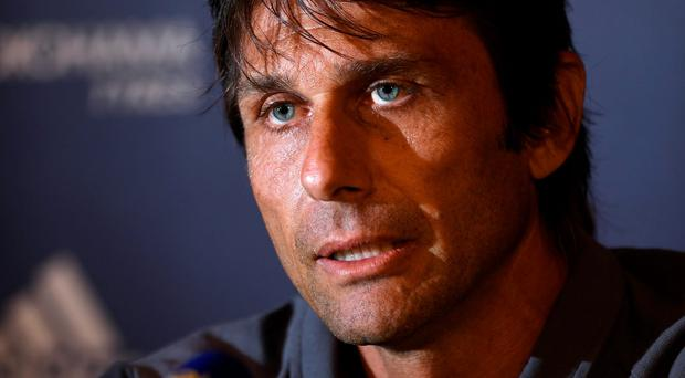 """Before the games, usually I don't sleep a lot,"" Conte explained. Photo: Reuters"