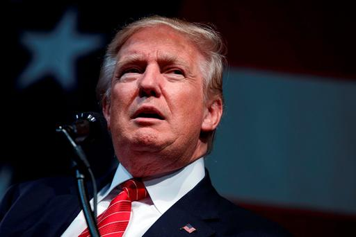 DONALD TRUMP: 'I think he knows that he simply isn't up to the job'. (AP Photo/Evan Vucci)